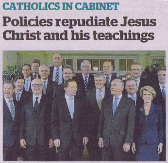 Catholics in Cabinet scan