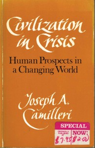 Civilisation in Crisis book cover
