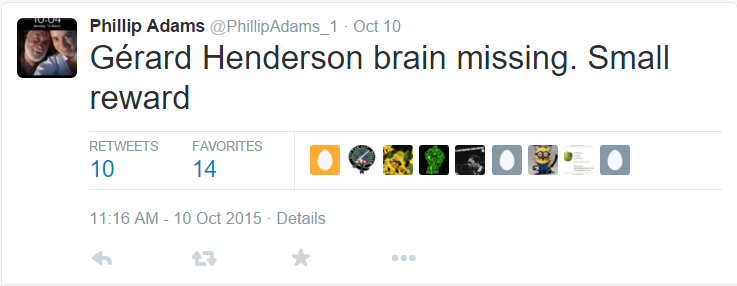 phillip adams tweet gh brain missing10 oct