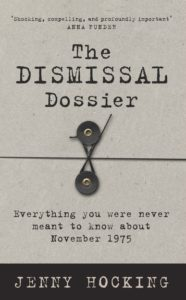 dismissal jenny hocking cover
