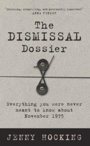 dismissal jenny hocking cover