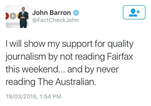 john barron deleted tweet