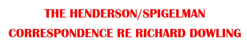 Henderson Spigelman Corro