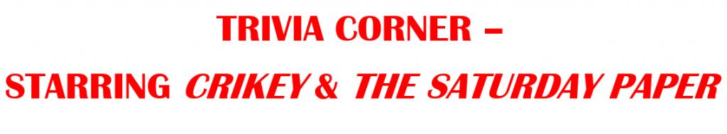 trivia-corner