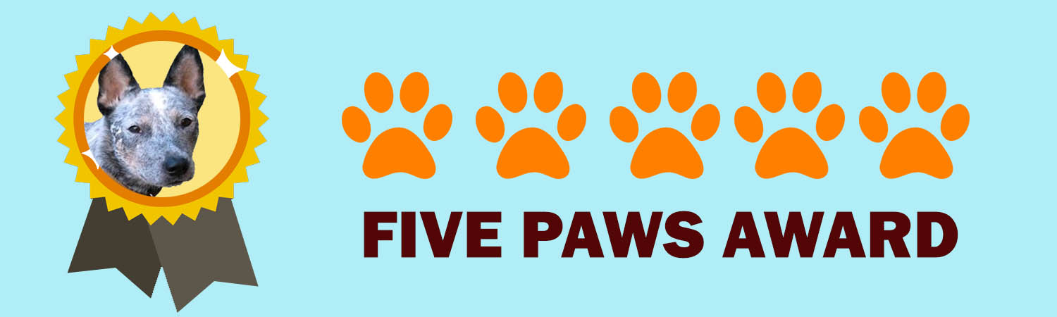 Five Paws Award