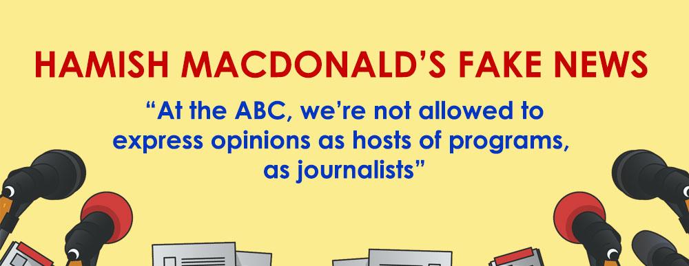 HAMISH MACDONALD'S FAKE NEWS