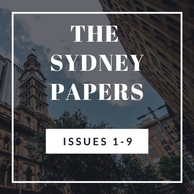 The Sydney Papers Issues 1-9