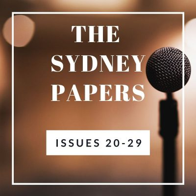 The Sydney Papers Issues 20-29