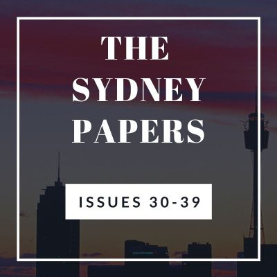 The Sydney Papers Issues 30-39