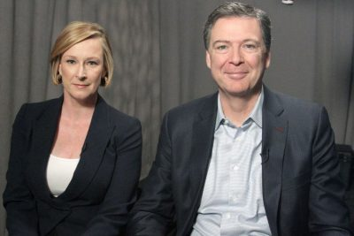 Leigh Sales and James Comey