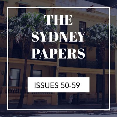 The Sydney Papers Issues 50-59